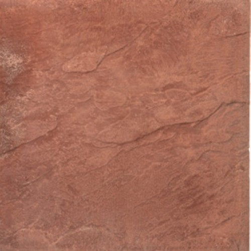 Red - Peak Riven - Concrete Paving - 450x450x32mm