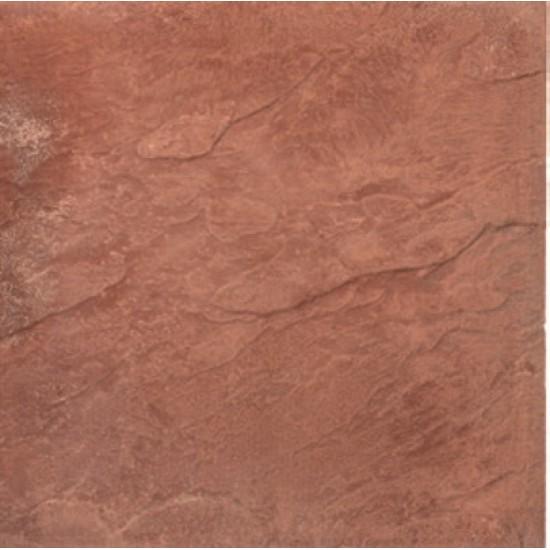 Red - Peak Riven - Concrete Paving - 450x450x32mm