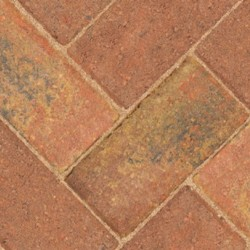 Autumn - Driveway 50 - Block Paving - Autumn 200x100x50mm - (488no Per Pack)9.76 m2