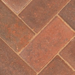 Brindle - Driveway 50 - Block Paving - Brindle 200x100x50mm - (488no Per Pack)9.76 m2