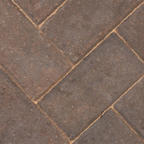 Burnt Oker - Driveway 50 - Block Paving - Burnt Oker 200x100x50mm - (488no Per Pack)9.76 m2