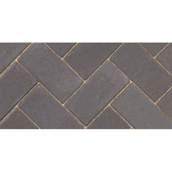 Charcoal - Driveway 50 - Block Paving - Charcoal 200x100x50mm - (488no Per Pack)9.76 m2