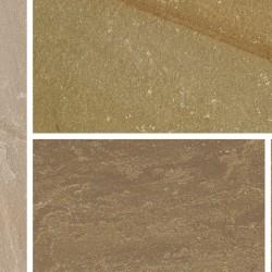 Autumn Green - Natural Sandstone - NaturalStone Ranges - Small Circle Squaring Off Kit 2720mm