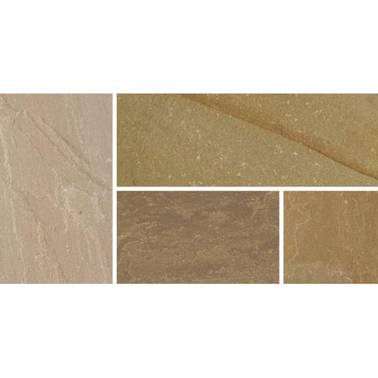 Autumn Green - Natural Sandstone - NaturalStone Ranges - 600x300mm