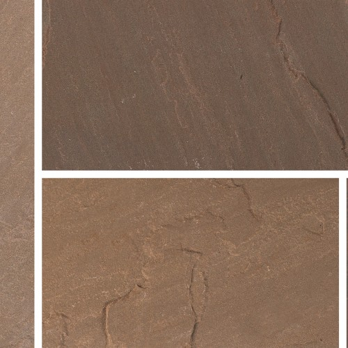 Burnt Umber - Blended Natural Sandstone - NaturalStone Ranges - 600x900mm