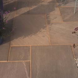 Burnt Umber - Blended Natural Sandstone - NaturalStone Ranges - Patio Pack 19.52m2