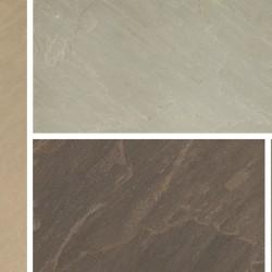 Imperial Green - Blended Natural Sandstone - NaturalStone Ranges - 600x900mm