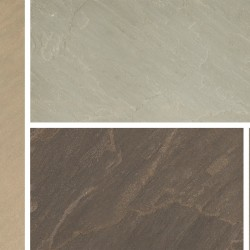 Imperial Green - Blended Natural Sandstone - NaturalStone Ranges - Patio Pack 19.52m2
