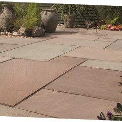 Rustic Buff - Blended Natural Sandstone - NaturalStone Ranges - Patio Pack 19.52m2