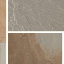 Rustic Grey - Blended Natural Sandstone - NaturalStone Ranges - Patio Pack 19.52m2