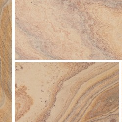 Rainbow - Smooth Natural Sandstone - Patio Pack 15.30m2