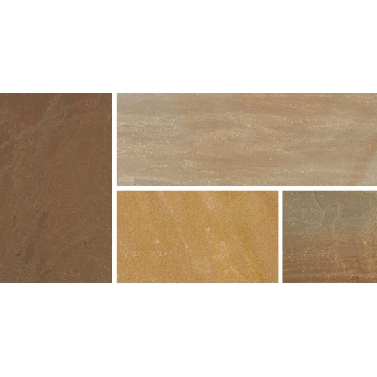 Sunset Buff - Natural Sandstone - NaturalStone Ranges - 300x300mm