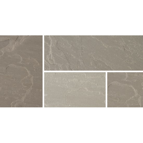 Silver Grey - Natural Sandstone - NaturalStone Ranges - 600x300mm