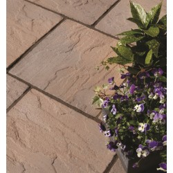 York Brown - Ashbourne - Concrete Paving - Patio Pack 9.72m2
