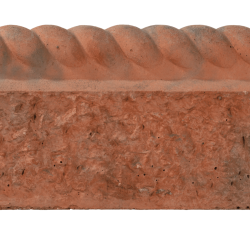 Antique Red - Rustic Rope Top - Landscaping Features - Edging 600x150x50mm