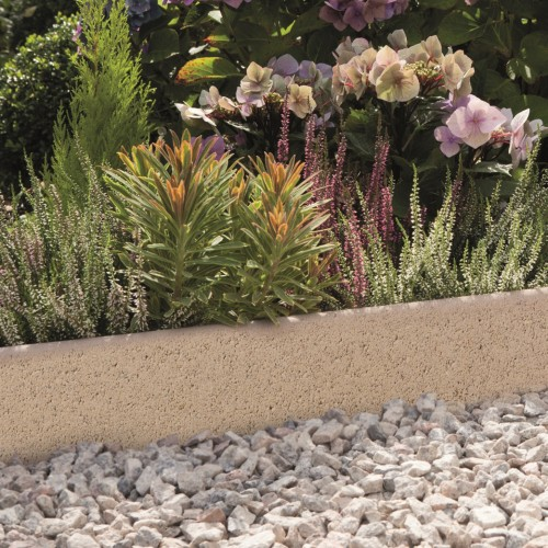 Grey - Round Top - Landscaping Features - Edging 600x50x150mm