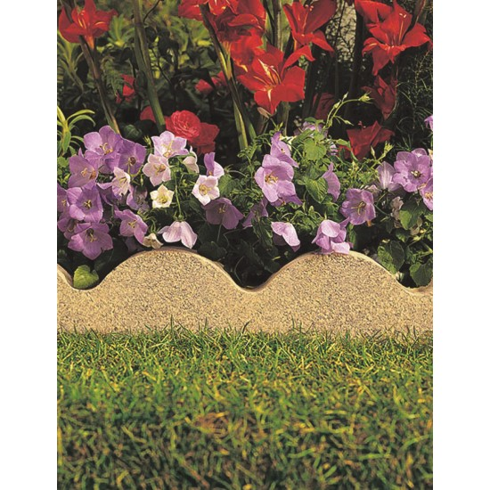 Buff - Scalloped - Landscaping Features - Edging 600x50x150mm