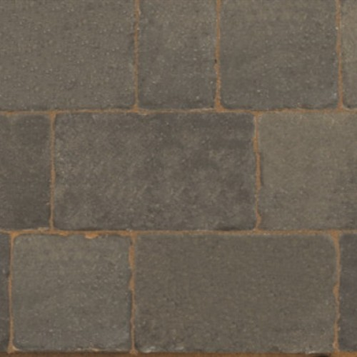 Cinder - Monksbridge - Block Paving - Cinder Mixed Sizes 9.6m2 - (360no Per Pack) 9.60 m2