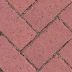 Red - Driveway Infilta - Block Paving - Red 200x100x60mm - (404no Per Pack)8.08 m2