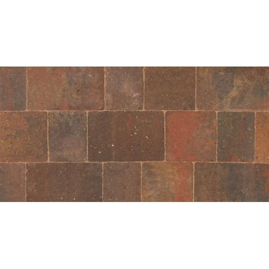 Autumn - Woburn Original - Block Paving - Autumn 200x134x50mm Large (37) - (312no Per Pack)8.43 m2