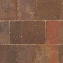 Autumn - Woburn Original - Block Paving - Autumn 134x134x50mm Medium (56) - (504no Per Pack)9.05 m2