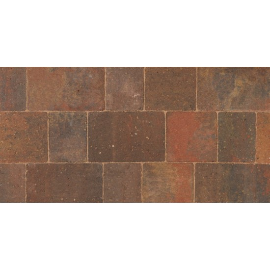 Autumn - Woburn Original - Block Paving - Autumn 100x134x50mm Small (75) - (672no Per Pack)8.98 m2