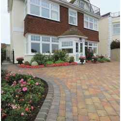 Autumn - Woburn Rumbled - Block Paving - Autumn 100x134x50mm Small (75) - (672no Per Pack)8.98 m2