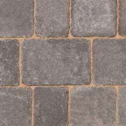 Graphite - Woburn Rumbled - Block Paving - Graphite 134x134x50mm Medium (56) - (504no Per Pack)9.05 m2