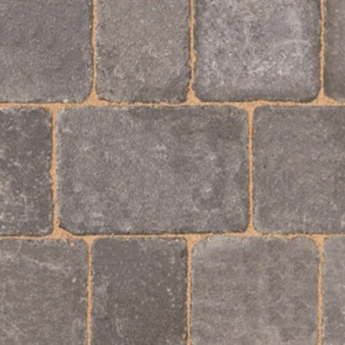 Graphite - Woburn Rumbled - Block Paving - Graphite 100x134x50mm Small (75) - (672no Per Pack)8.98 m2