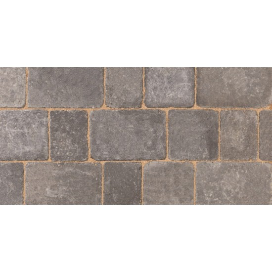 Graphite - Woburn Rumbled - Block Paving - Graphite 100x134x50mm Small (75) - (672no Per Pack)8.98 m2