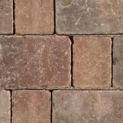 Autumn - Woburn Rumbled Infilta - Block Paving - Autumn 134x134x60mm Medium - (468no Per Pack)8.35 m2