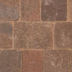 Rustic - Woburn Rumbled - Block Paving - Rustic 134x134x50mm Medium (56) - (504no Per Pack)9.05 m2