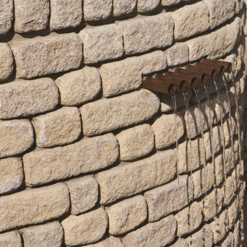 Buff - Countrystone Walling - Landscaping Features - Block 290x90x136mm Pack 2.50m2
