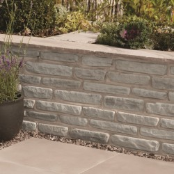 Fossil Buff - Natural Sandstone Walling - Landscaping Features - Pack 5.70m2