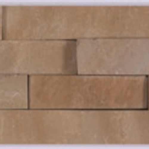 Sunset Buff - Natural Sandstone Walling Slips - Landscaping Features - Slips 650x150x10-20mm Pack of 6