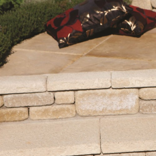 Buff - Textured - Landscaping Features - 580x275x50mm