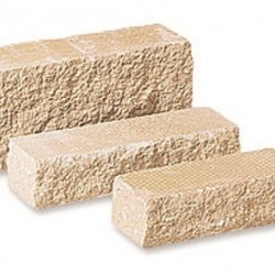 Buff - Pitched Walling - Landscaping Features - Block 290x90x136mm Pack 2.20m2